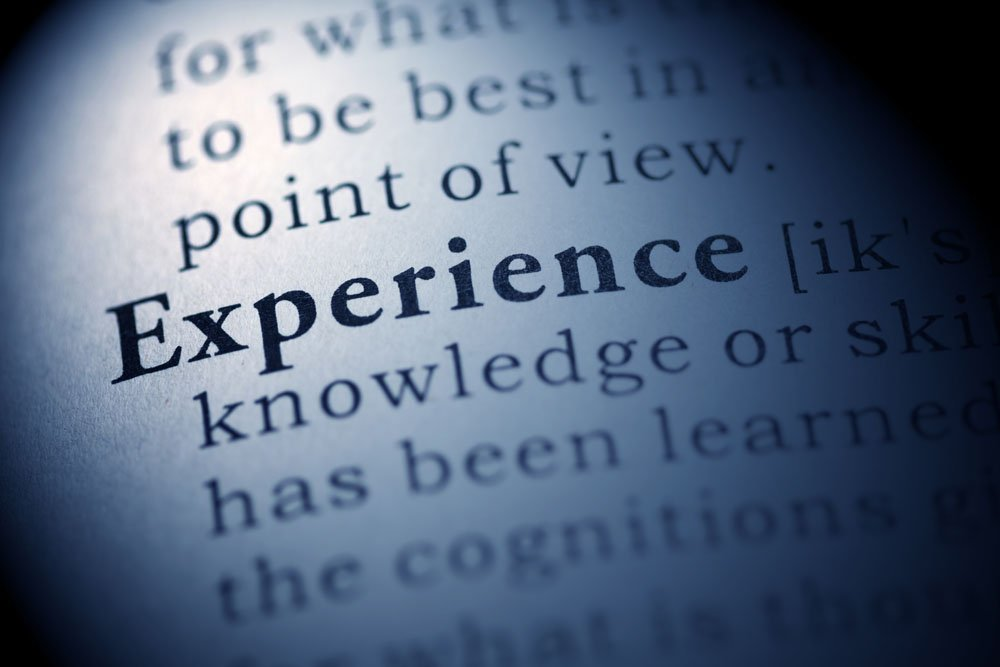 The Advantages of Experience